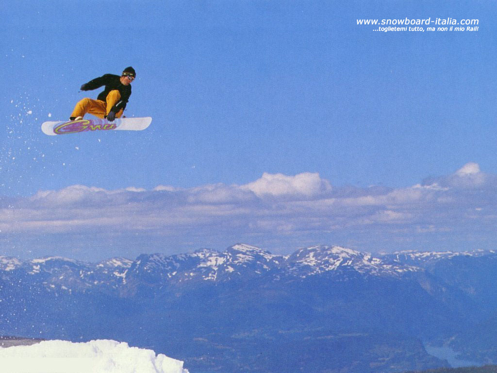 WallPaper e Sfondi Desktop Snowboard