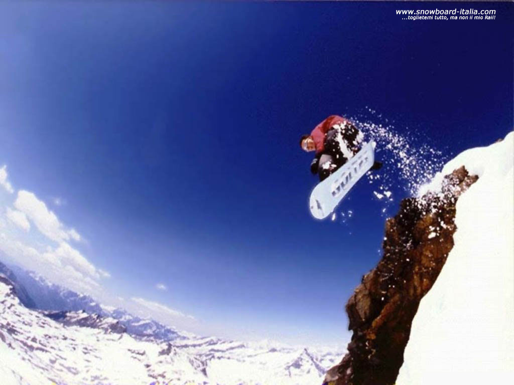 Wallpaper e sfondi desktop snowboard for Immagini desktop 4k
